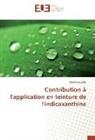 Ahlem Guesmi, Guesmi-a - Contribution a l application en