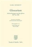 Carl Schmitt, Ger Giesler, Gerd Giesler, Tielke, Martin Tielke - Glossarium