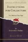 Unknown Author - Instructions for Collectors
