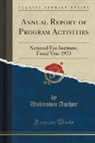 Unknown Author - Annual Report of Program Activities