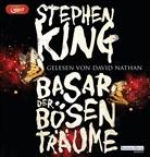 Stephen King, David Nathan - Basar der bösen Träume, 3 Audio, (Audio book)