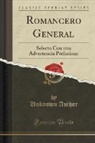 Unknown Author - Romancero General