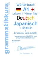 Edouard Akom, Edouard Martial Akom, Marlene Schachner - Wörterbuch Deutsch - Japanisch - Englisch Niveau A1