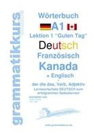 Edouard Akom, Edouard Martial Akom, Marlen Schachner, Marlene Schachner - Wörterbuch Deutsch - Französisch Kanada - Englisch Niveau A1