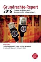Til Müller-Heidelberg, Till Müller-Heidelberg, Marei Pelzer, Marei Pelzer u a, Elk Steven, Elke Steven - Grundrechte-Report 2016