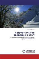Anatolij Glazov - Neformal'noe vvedenie v DBSN