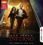 Dan Brown, Wolfgang Pampel - Inferno, 3 MP3-CDs (Hörbuch)