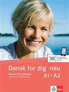 Else-Maria Christensen, Ink Hach-Rathjens - Dansk for dig - neu: Kursbuch mit 2 Audio-CDs