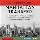 John Dos Passos, John Dos Passos, Diverse, diverse, John Dos Passos, Maren Eggert... - Manhattan Transfer, 6 Audio-CDs (Hörbuch)