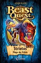 Adam Blade, Loewe Kinderbücher - Beast Quest (Band 44) - Striatos, Plage der Prärie
