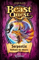 Adam Blade, Loewe Kinderbücher - Beast Quest (Band 43) - Serpentix, Reißzahn des Meeres