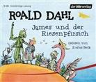 Roald Dahl, Rufus Beck - James und der Riesenpfirsich, 3 Audio-CDs (Hörbuch)