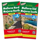 Freytag-Berndt und Artaria KG, Freytag-Bernd und Artaria KG - Freytag & Berndt Auto + Freizeitkarte Mallorca Nord und Süd, Set, Autokarten 1:50.000. Freytag & Berndt Road + Leisure Map Majorca North / South