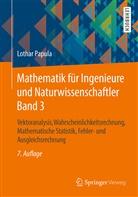 Lothar Papula - Mathematik für Ingenieure und Naturwissenschaftler - 3: Vektoranalysis, Wahrscheinlichkeitsrechnung, Mathematische Statistik, Fehler- und Ausgleichsrechnung
