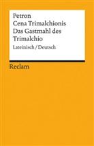 Petron, Petronius, Karl Wilhelm Weeber, Karl-Wilhel Weeber - Cena Trimalchionis / Das Gastmahl des Trimalchio