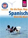 Hans-Jürgen Fründt - Reise Know-How Sprachführer Spanisch für die Dominikanische Republik - Wort für Wort