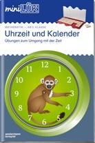 Carla Knoll, Heinz Vogel - mini LÜK, Übungshefte: Uhrzeit und Kalender - Mathematik ab 2. Klasse