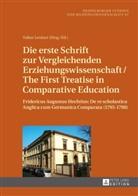 Volke Lenhart, Volker Lenhart - Die erste Schrift zur Vergleichenden Erziehungswissenschaft/The First Treatise in Comparative Education