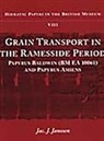 Jac J. Janssen - Grain Transport in the Ramesside Period: Papyrus Baldwin and Papyrus Amiens