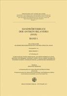 Ulric Eigler, Ulrich Eigler, Peter Gröschler, Peter Gröschler u a, Heinz Heinen - Handwörterbuch der antiken Sklaverei (HAS), Buchausgabe, 3 Teile