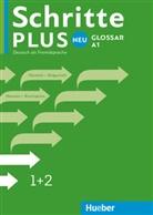 Huebe Verlag GmbH & Co KG - Schritte plus Neu - Deutsch als Fremdsprache - 1+2: Schritte Plus Neu 1 + 2 Glossar Deutsch-Bulgarisch