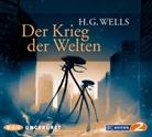 H. G. Wells, H.G. Wells, Herbert G Wells, Herbert G. Wells, Andreas Fröhlich - Der Krieg der Welten, 6 Audio-CDs (Hörbuch)