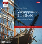 Herman Melville, Hans Paetsch - Vortoppmann Billy Budd, 1 MP3-CD (Hörbuch)