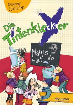 Dagmar Geisler, Dagmar Geisler - Die Tintenkleckser 3 - Mattis haut ab, Band 3