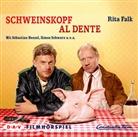 Rita Falk, Sebastian Bezzel, Bezzel. Sebastian, Simon Schwarz, u.v.a. - Schweinskopf al dente, 1 Audio-CD (Hörbuch)