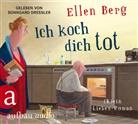 Ellen Berg, Sonngard Dressler - Ich koch dich tot, 2 MP3-CDs (Hörbuch)