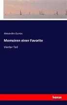 Alexandre Dumas - Memoiren einer Favorite