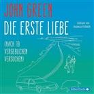 John Green, Andreas Fröhlich - Die erste Liebe (nach 19 vergeblichen Versuchen), 4 Audio-CDs (Hörbuch)