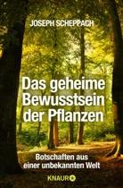 Joseph Scheppach - Das geheime Bewusstsein der Pflanzen