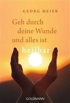 Georg Meier - Geh durch deine Wunde und alles ist heilbar