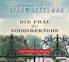 Diane Ackerman, Bibiana Beglau - Die Frau des Zoodirektors, 6 Audio-CDs (Hörbuch)