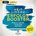 Veit Lindau - Coach to go Erfolgsbooster, 1 Audio-CD, MP3 (Hörbuch)