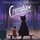 Katherine Applegate, Hanno Koffler - Crenshaw - Einmal schwarzer Kater, 2 Audio-CDs (Hörbuch)