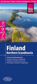 Reise Know-How Verlag Peter Rump - Reise Know-How Landkarte Finnland und Nordskandinavien / Finland and Northern Scandinavia (1:875.000). Finlande et nord de la Scandinavie / Finlandia y Escandinavia del norte
