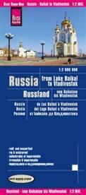 Reise Know-How Verlag Peter Rump - Reise Know-How Landkarte Russland - vom Baikalsee bis Wladiwostok / Russia - from Lake Baikal to Vladivostok (1:2.000.000); .. Russia, From Lake Baikal to Vladivostok / Russie, du Lac Baikal à Vladivostok / Rusia, del Lago Baikal a Vladivostok
