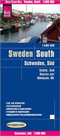 Reise Know-How Verlag Peter Rump - Reise Know-How Landkarte Schweden Süd (1:500.000). Southern Sweden / Suède sud / Suecia sur