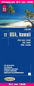 Reise Know-How Verlag Peter Rump - Reise Know-How Landkarte USA 12, Hawaii (1:200.000)