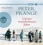 Peter Prange, Helmut Zierl - Unsere wunderbaren Jahre, 2 MP3-CDs (Hörbuch)