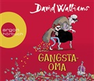 David Walliams, Dietmar Bär, Tony Ross - Gangsta-Oma, 3 Audio-CDs (Hörbuch)