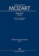 Wolfgang Amadeus Mozart, Ulrich Leisinger - Requiem d-Moll KV 626 (Süßmayr), Klavierauszug