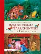 Jacob Grimm, Wilhelm Grimm, Barbara Bedrischka-Bös, Marti Stiefenhofer - Meine wunderbare Märchenwelt in Erzählbildern