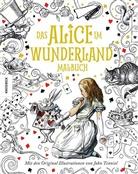 Lewis Carroll, John Tenniel - Das Alice im Wunderland Malbuch