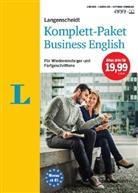 Martin Bradbeer, Redaktio Langenscheidt, Redaktion Langenscheidt - Langenscheidt Komplett-Paket Business English, 2 Bücher, 3 Audio-CDs und Software-Download