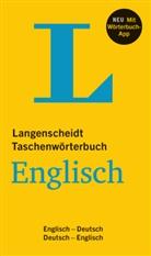 Redaktio Langenscheidt, Redaktion Langenscheidt, Redaktion Langenscheidt - Taschenwörterbuch Englisch : Englisch-Deutsch und vv