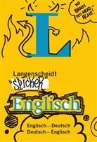 Redaktio Langenscheidt, Redaktion Langenscheidt, Redaktion Langenscheidt - Langenscheidt Spicker Englisch