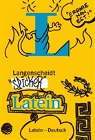 Redaktio Langenscheidt, Redaktion Langenscheidt, Redaktion Langenscheidt - Langenscheidt Spicker Latein : Latein-Deutsch